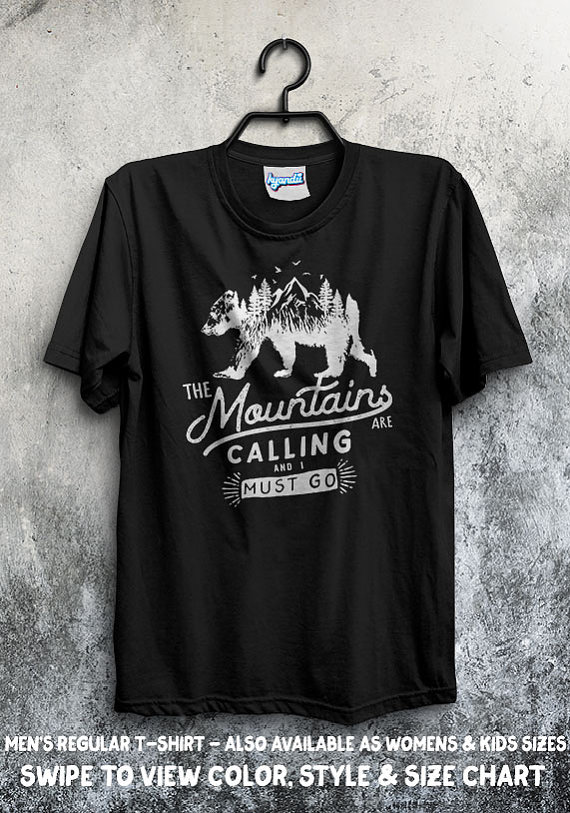 b3c0a7e2f The mountains are calling and i must go. Explore the world, filled with  nature and calm. We created this design for all you people who just want to  get away ...