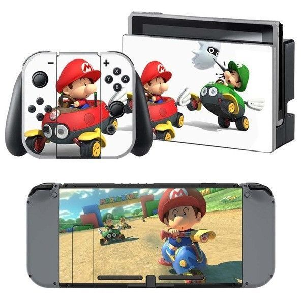 Skins MARIO KART 8 Sticker Cover For Nintendo Switch | Mario
