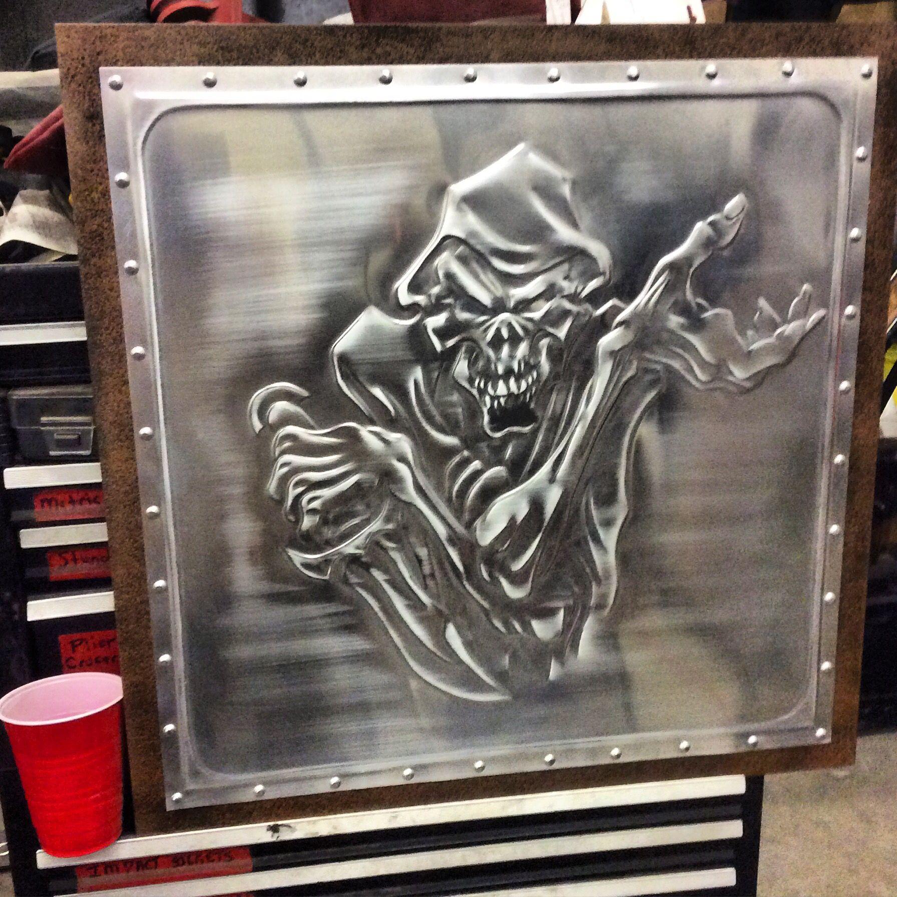 Dc Customs Bead Rolled Metal Art Dc Customs Metal Art
