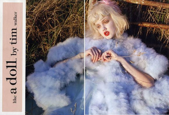 "Like A Doll"" for Vogue Italia January 2012 Photographed by Tim Walker"