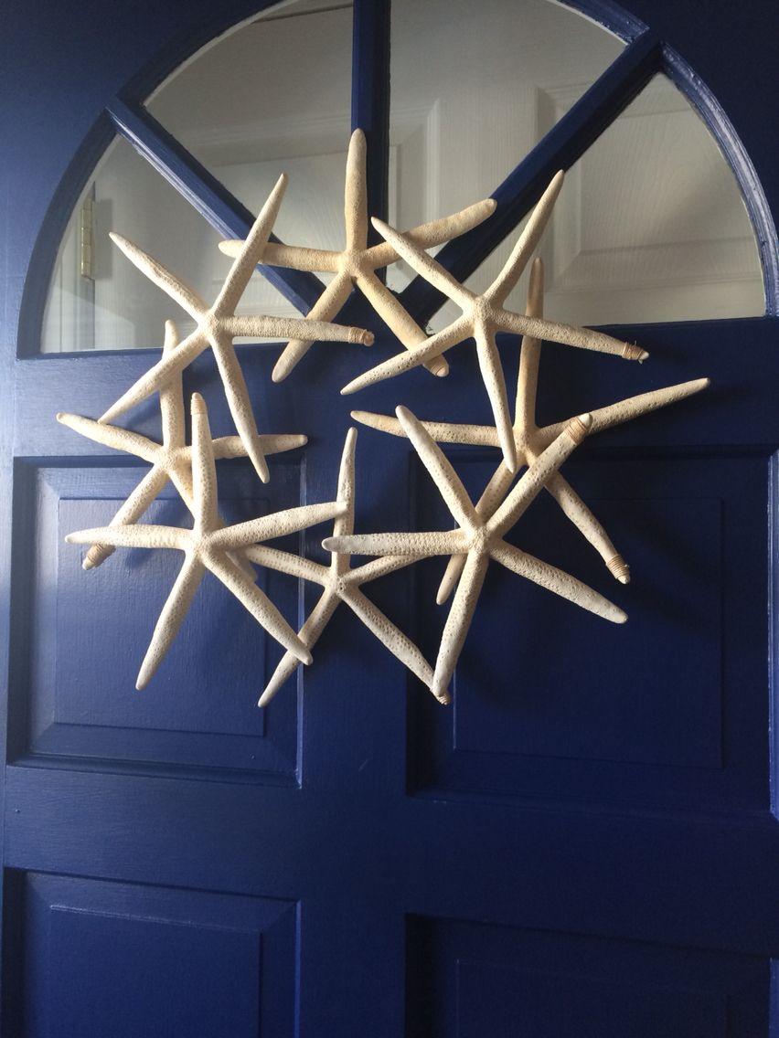 Starfish Door Wreath