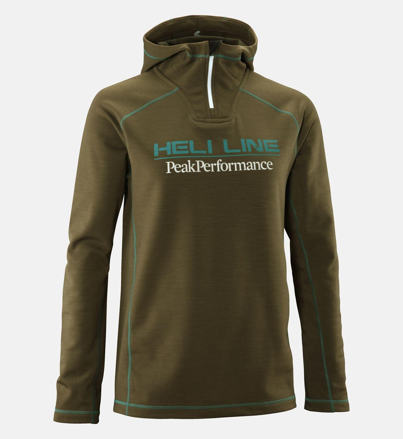 7c3e194cafc Men's Heli Hooded Mid-Layer - heli | Peak Performance | Man clothing ...