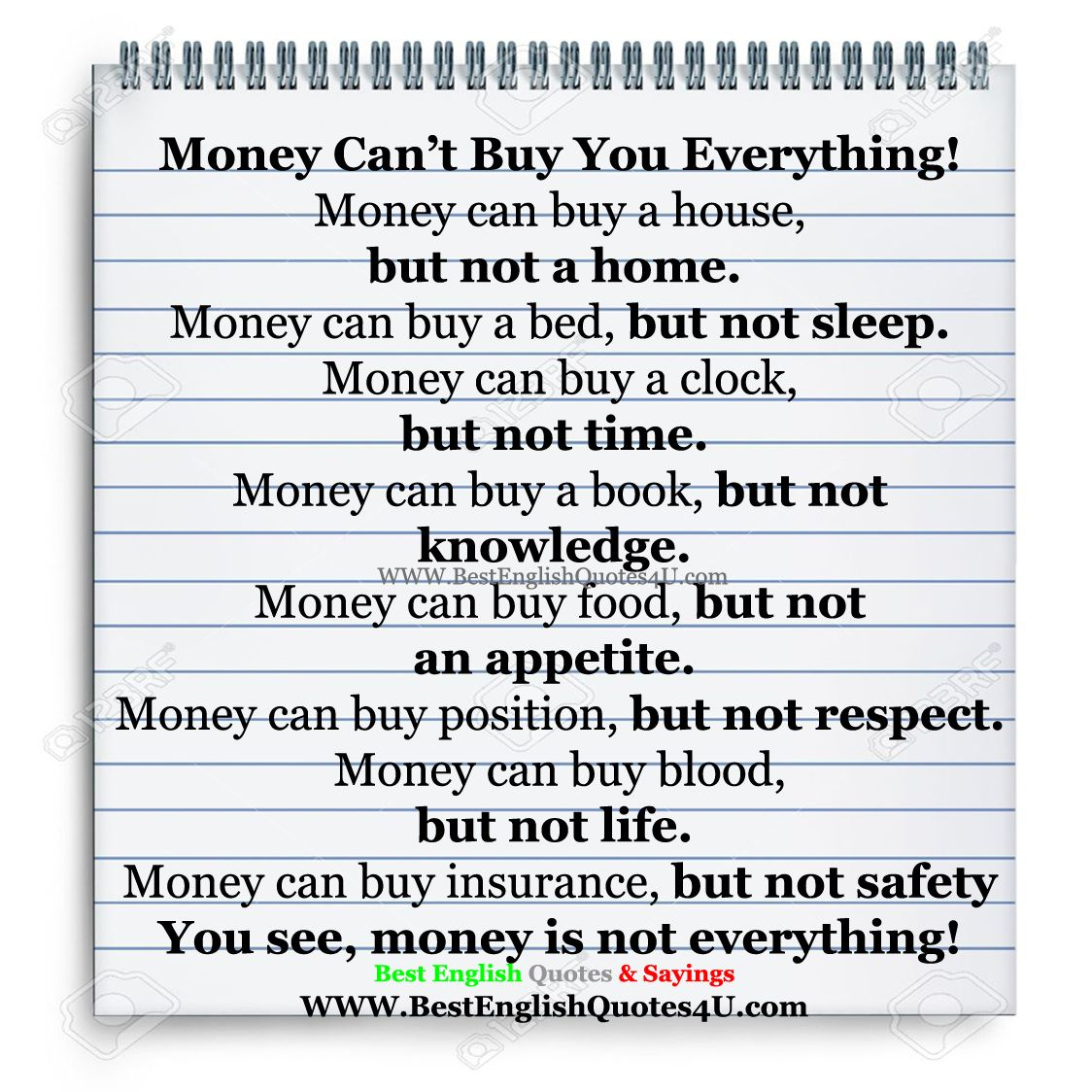 Money can t buy everything essay