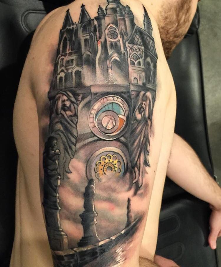 Tattoo By Damon Conklin Super Genius Tattoo Seattle Wa Tattoos