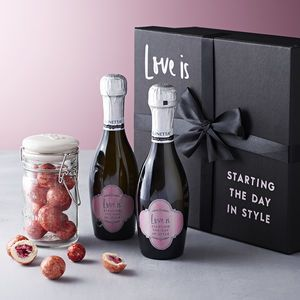 Personalised Prosecco Valentine's Gift Set - This Valentine's Day we've all kinds of heartfelt finds, from the UK's best small creative businesses.