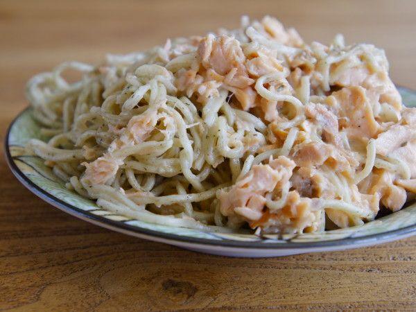 Cajun Salmon Alfredo | The Weary Chef