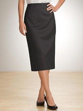 Seasonless Wool Lana Skirt, Pendelton. The perfect basic work skirt, but maybe a little shorter than this