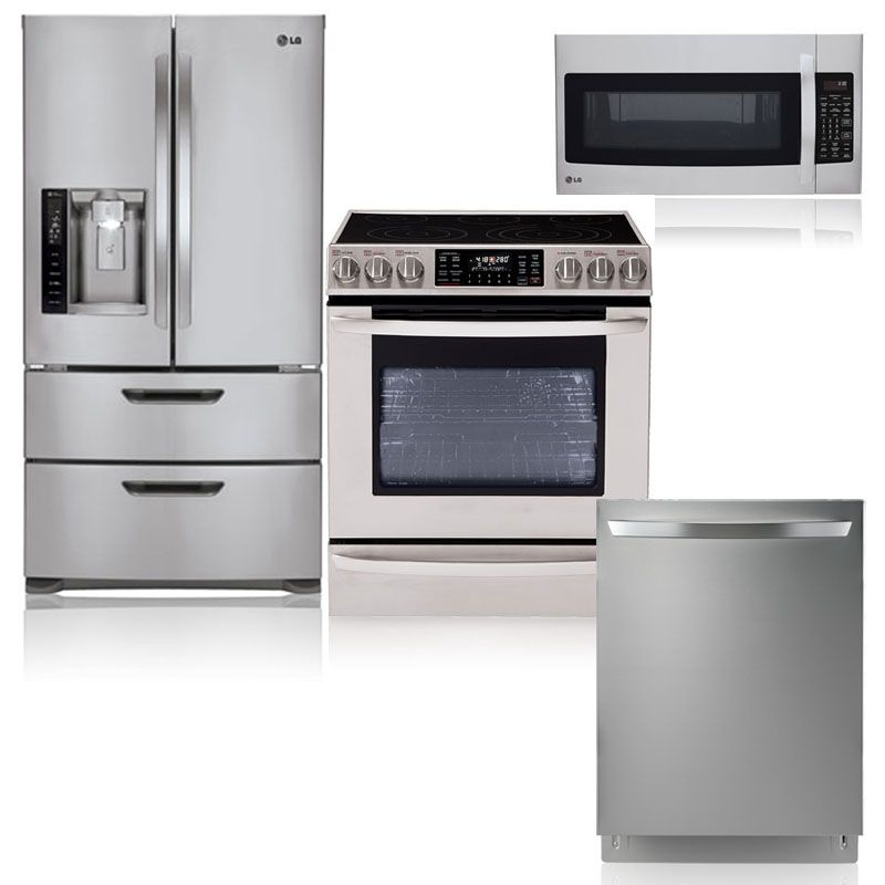 Lg Kitchen Appliances: LG Appliance Sweep (still Deciding Though) Nice Set. Would