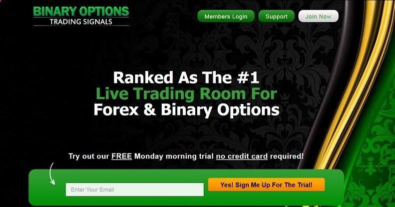 Options binary trading winning signals free live