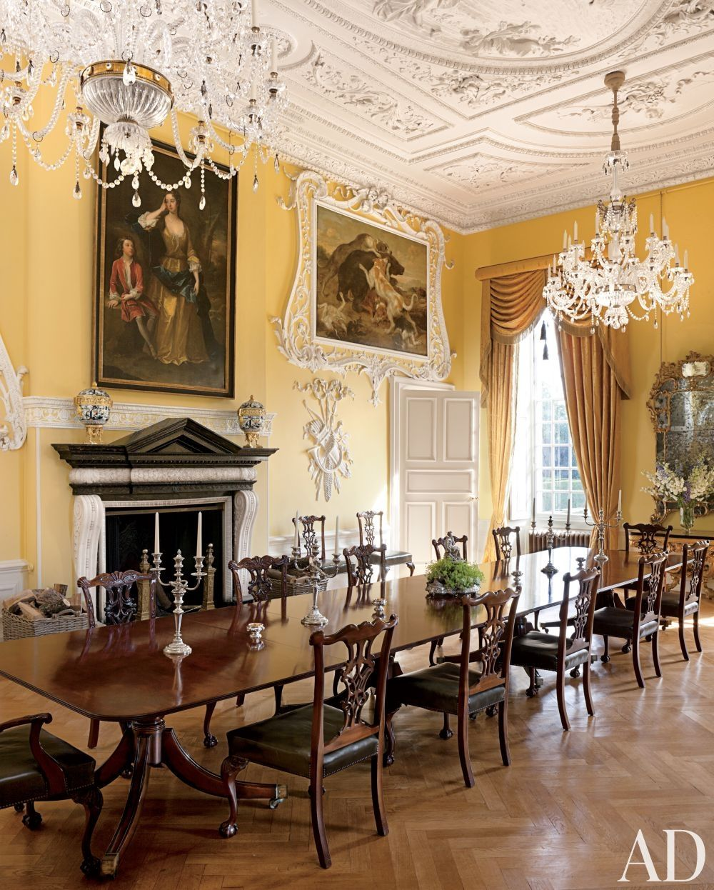 traditional dining room by spencer churchill designs inc and ptolemy dean architects ltd - Traditional Dining Room
