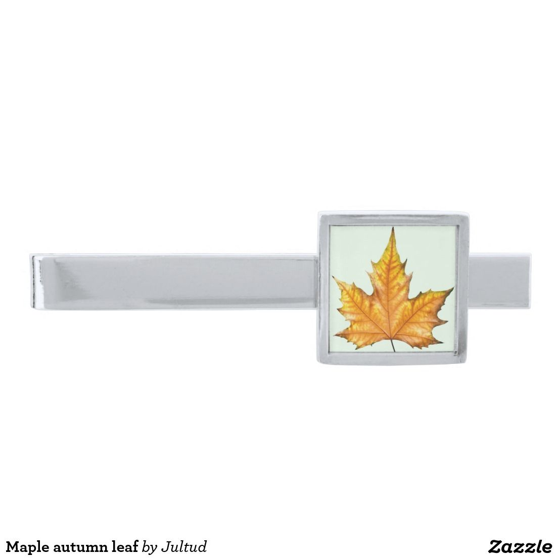 Maple autumn leaf tie clip. #tieclips #maple #leaf #photograph #elegant #menswear
