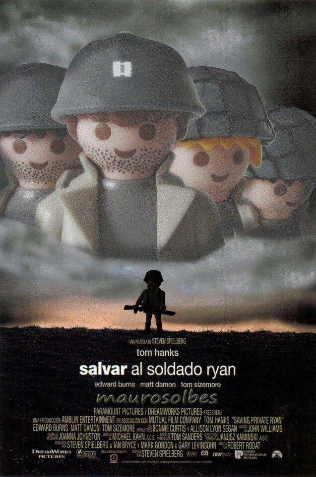 Playmobil Movie Poster Series: Saving Private Ryan ...