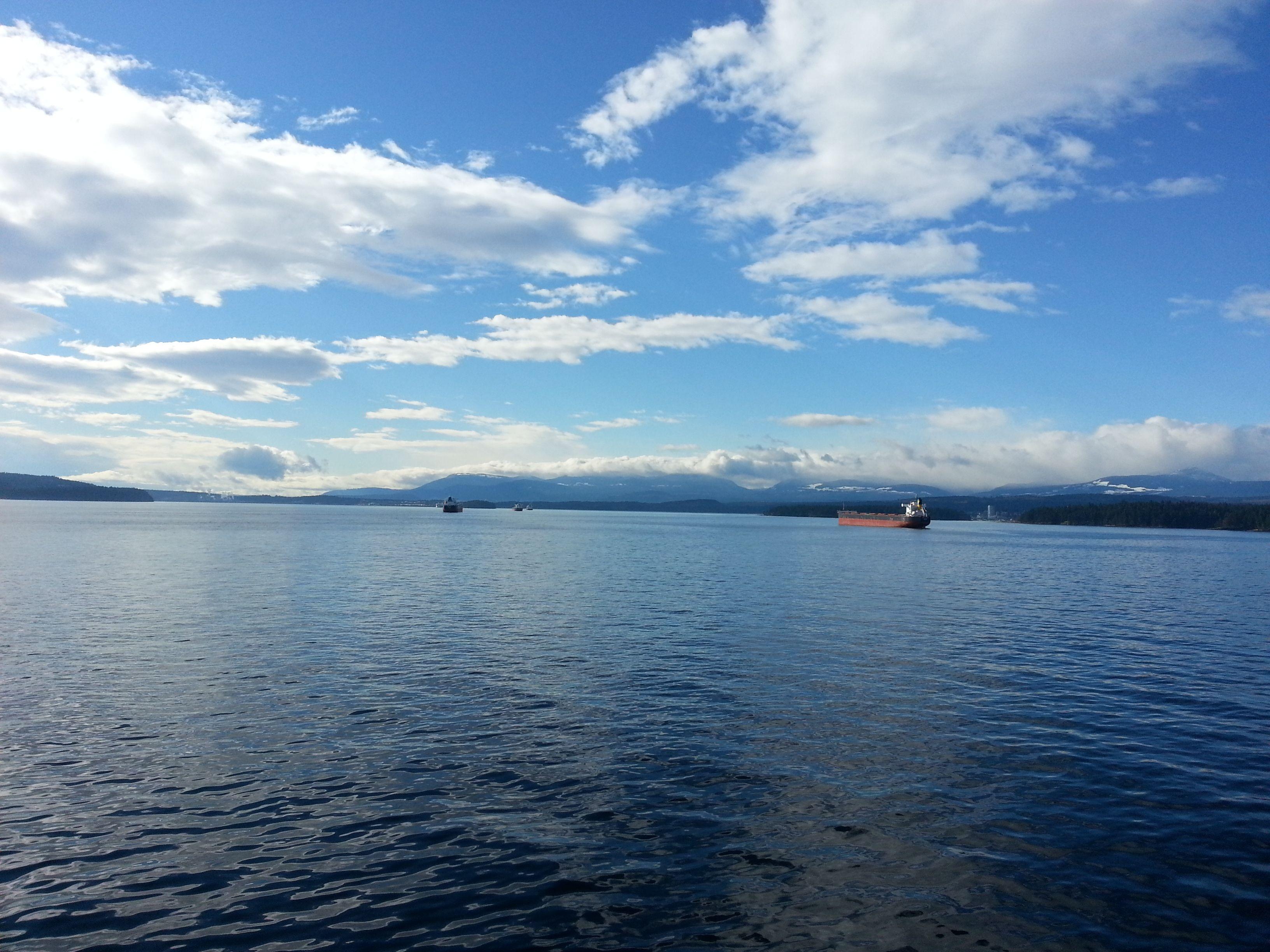 Ferry ride to Nanaimo