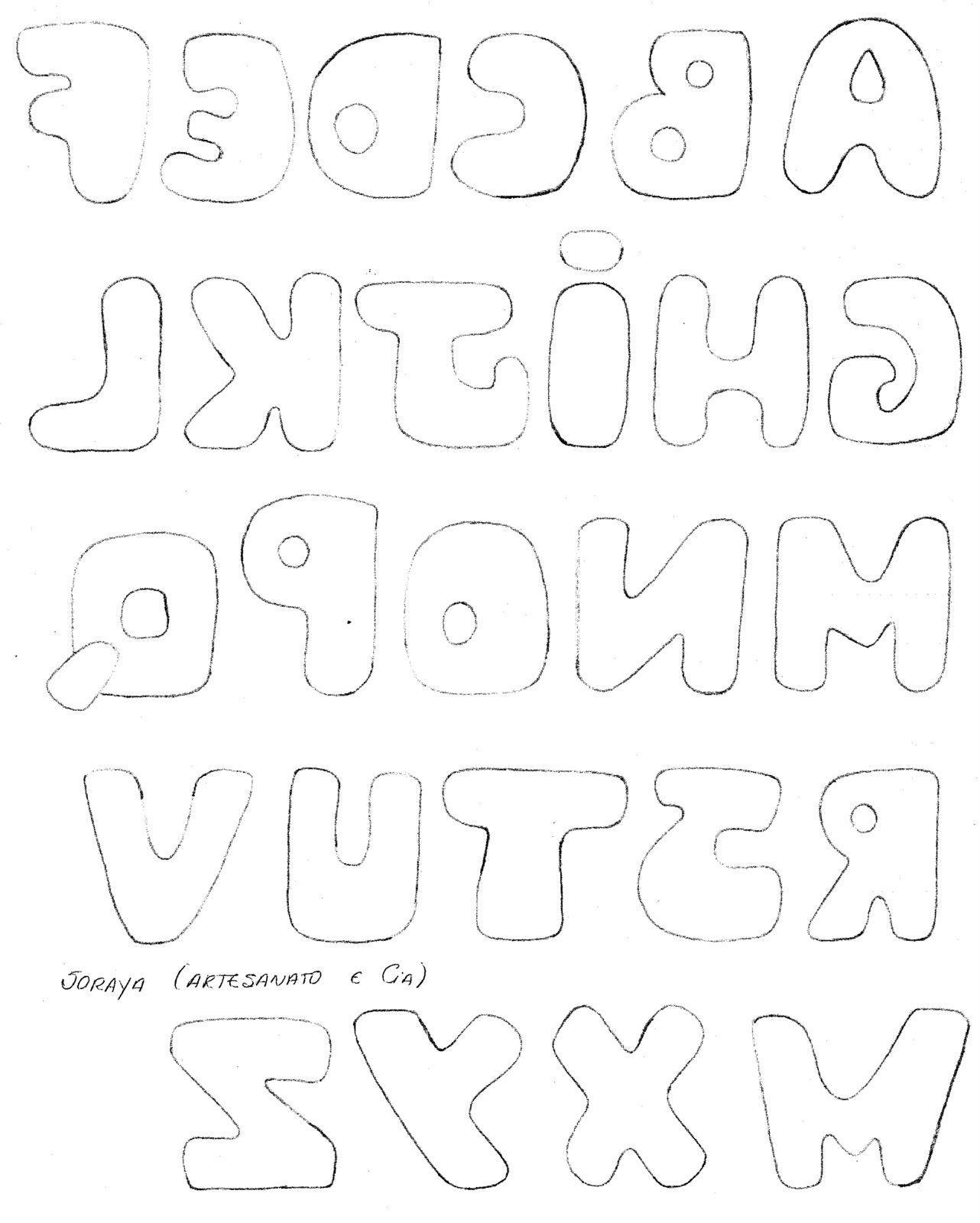 Plantilla de letras 1 letters enzo pinterest patchwork plantilla de letras 1 applique templatesapplique spiritdancerdesigns Gallery
