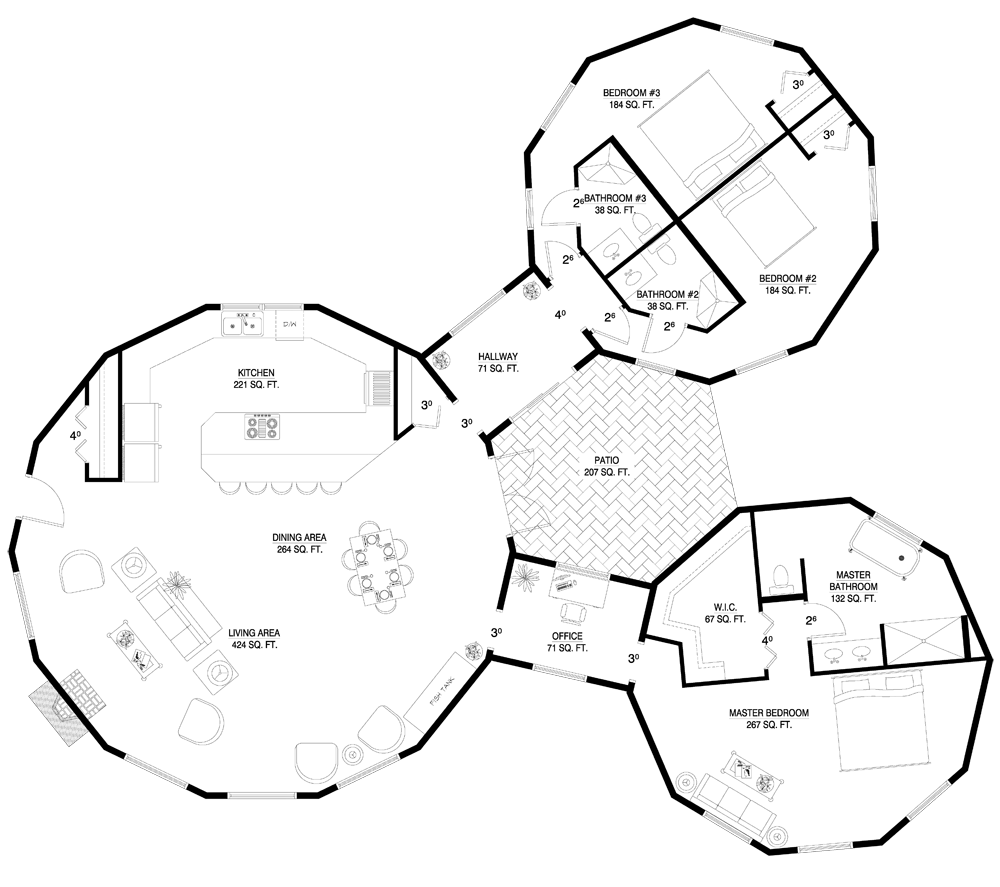 Deltec homes floorplan gallery round floorplans custom floorplans i think this is my new dream home