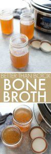 Slow Cooker Better Than Botox Bone Broth + VIDEO | Platings + Pairings #soupedetoxminceur