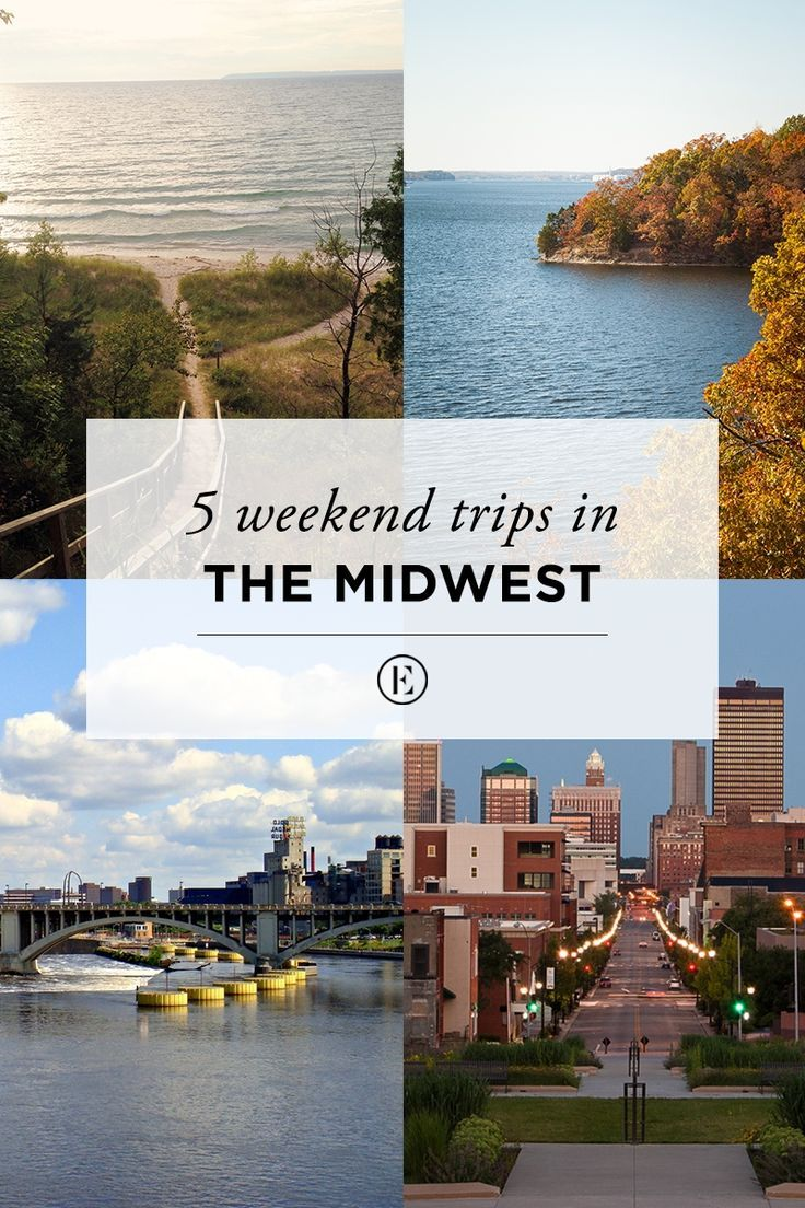 5 weekend road trips in the midwest | ☆ life - midwest living