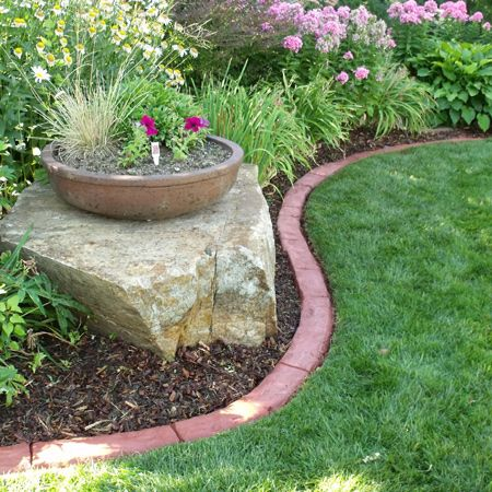 Making Your Own Concrete Edging Is An Easy Way To Save A