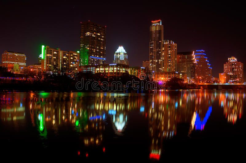 Downtown Austin, Tx Fireworks. For new years , ad,