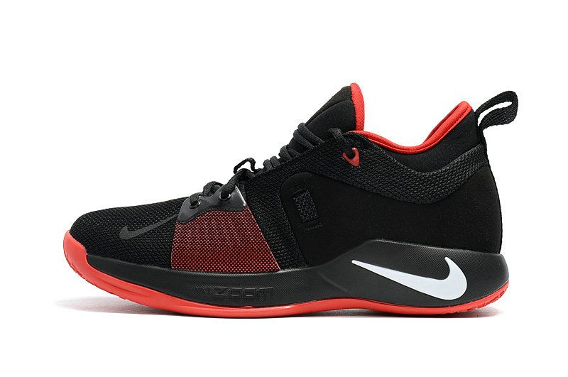 05422c79c6cace Spring Summer 2018 Popular Nike Paul George 2 Boots Zoom PG 2 Mens  Basketball Sneakers Black Red