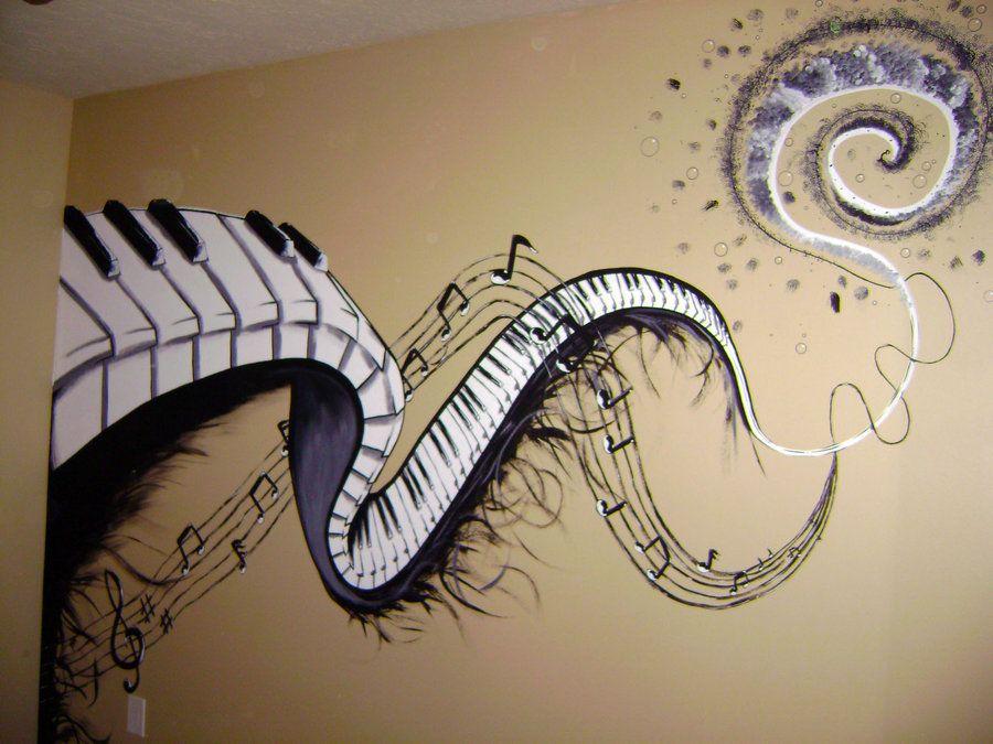 914b0aea35 Music Mural by CryingOutLoudArtwork.deviantart.com on @deviantART ...
