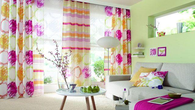 Suche Gardinen Wohnzimmer ~ Blumige vorhänge google suche vorhänge und sonnenschutz