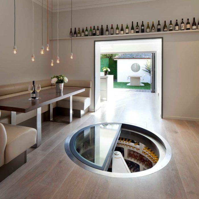 weinlagerung spiralförmiger bodenkeller weinkeller | root cellar ... - Weinkeller Bauen Modern Gestalten