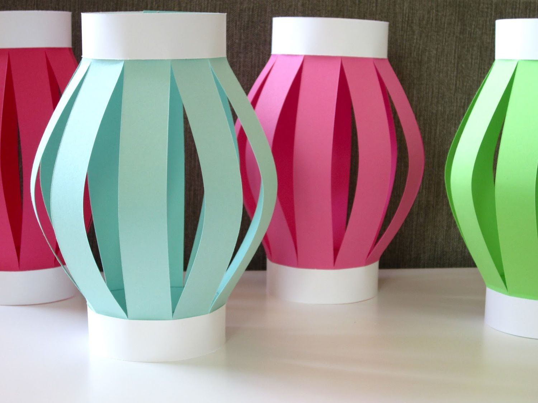 Diy Luau Party Lanterns