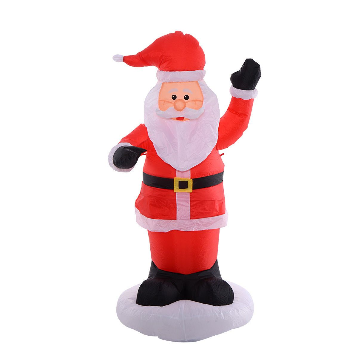 6Ft Airblown Inflatable Christmas Xmas Santa Claus Decoration Lawn ...