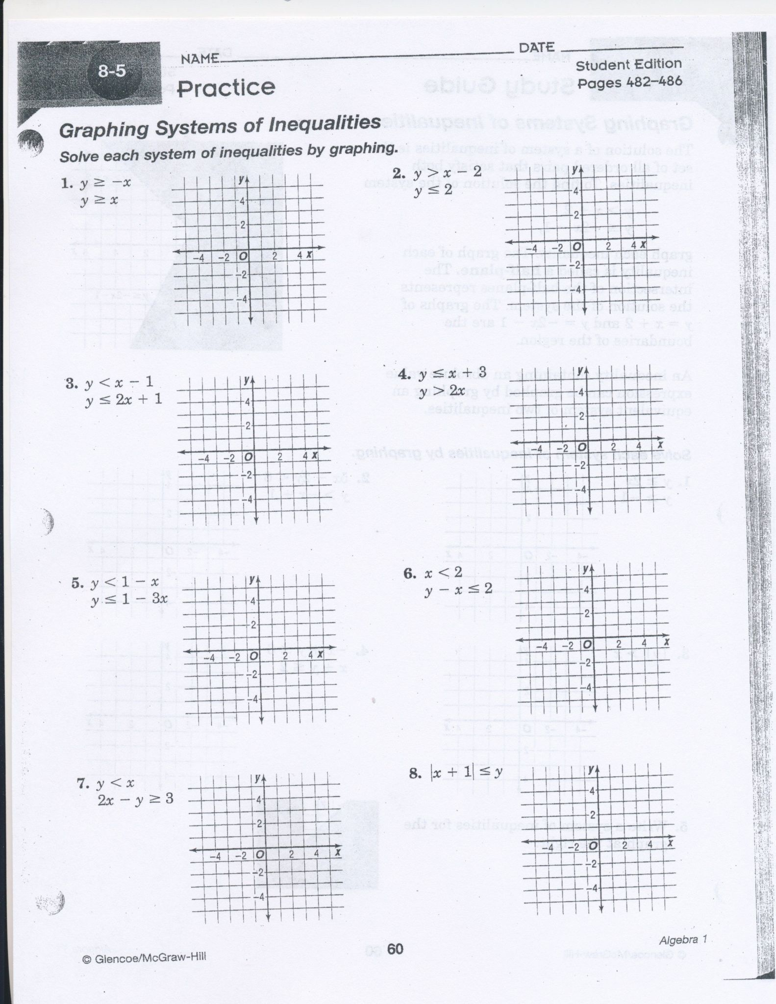 Readable Solving Systems Of Equations By Graphing