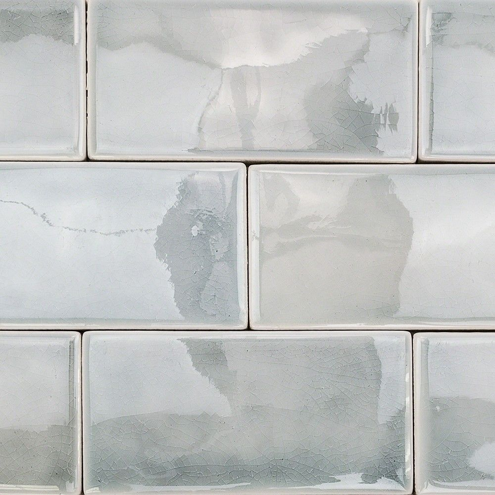 Nabi Arctic Blue 3x6 Ceramic Tile In 2018 Kitchen Pinterest