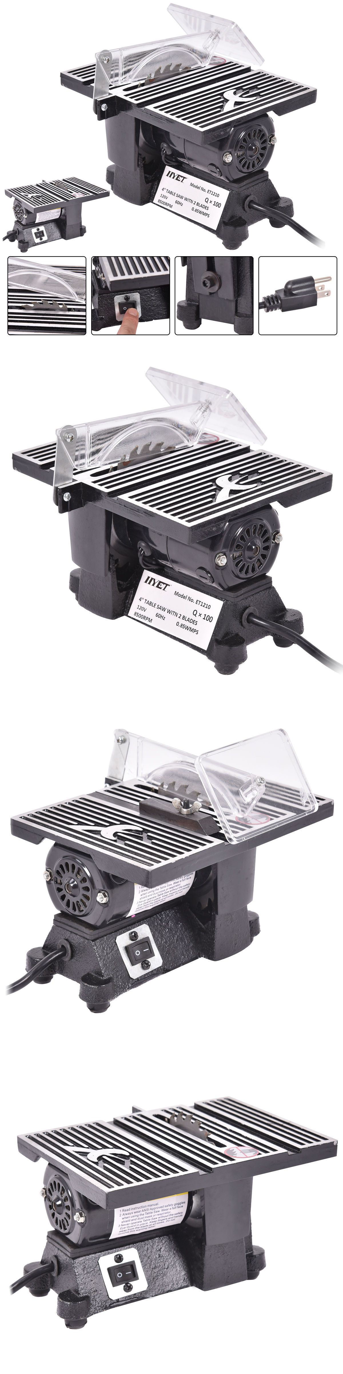 Table Saws 122835 New 4 Mini Electric Table Saw Tablesaw 8500 Rpm