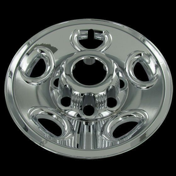 Details About Set Of 4 Chevy 16 Chrome Wheel Skin 8 Lug Hub Caps