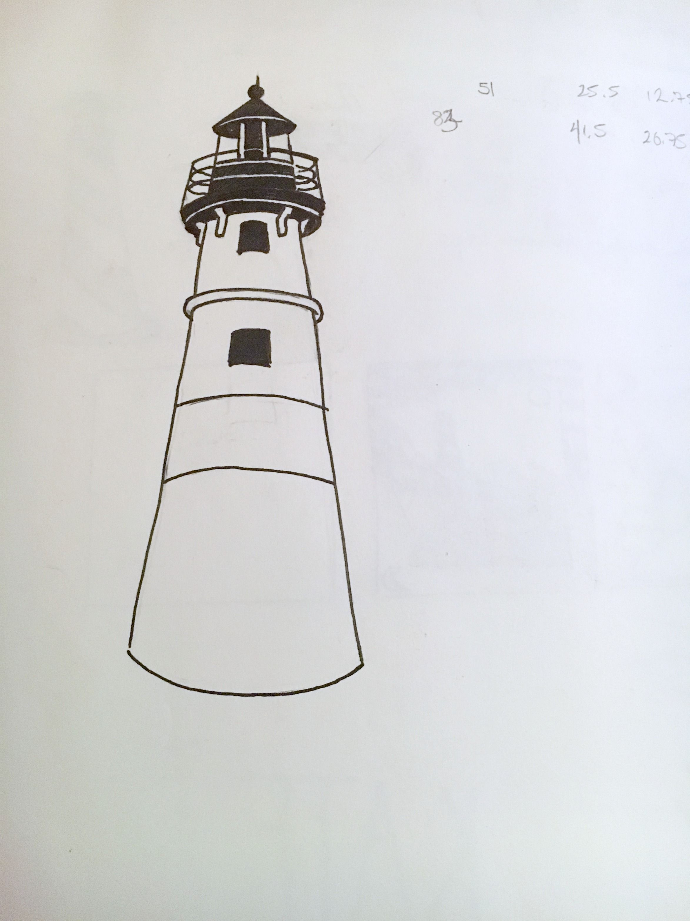 Final lighthouse design