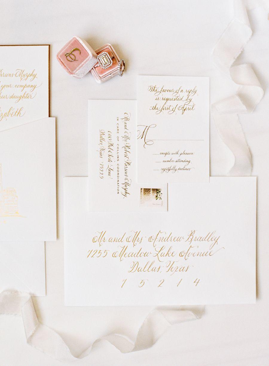 Steal A Fashion Blogger S Modern Wedding Style Wedding Invitations Stationery Modern Wedding Styles Modern Wedding Venue