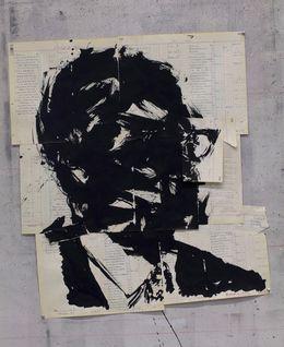 ウィリアム・ケントリッジ、「無題(パトリス・ルムンバIII)、「2016年、グッドマンギャラリー