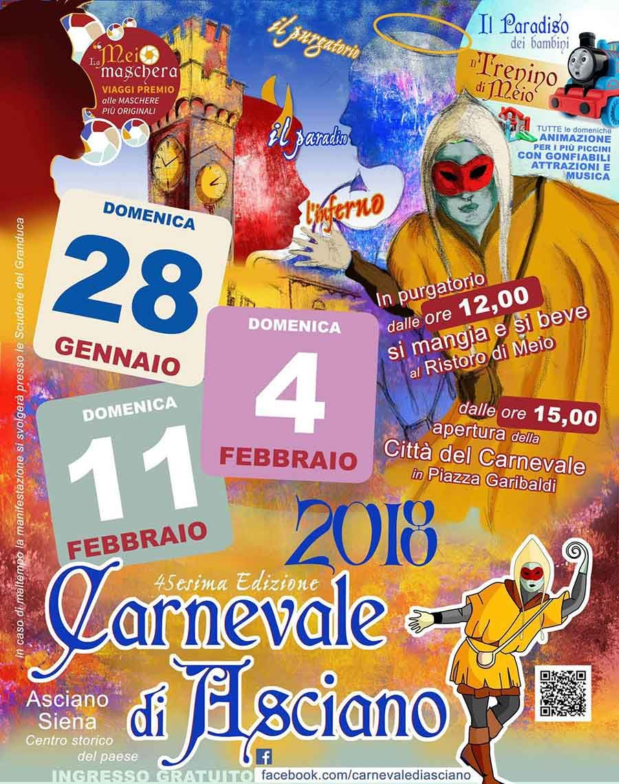 2018 Carnevale In Asciano Siena Feb 4 And Feb  P M Music And Entertainment Magic Shows And Games Free Entrance