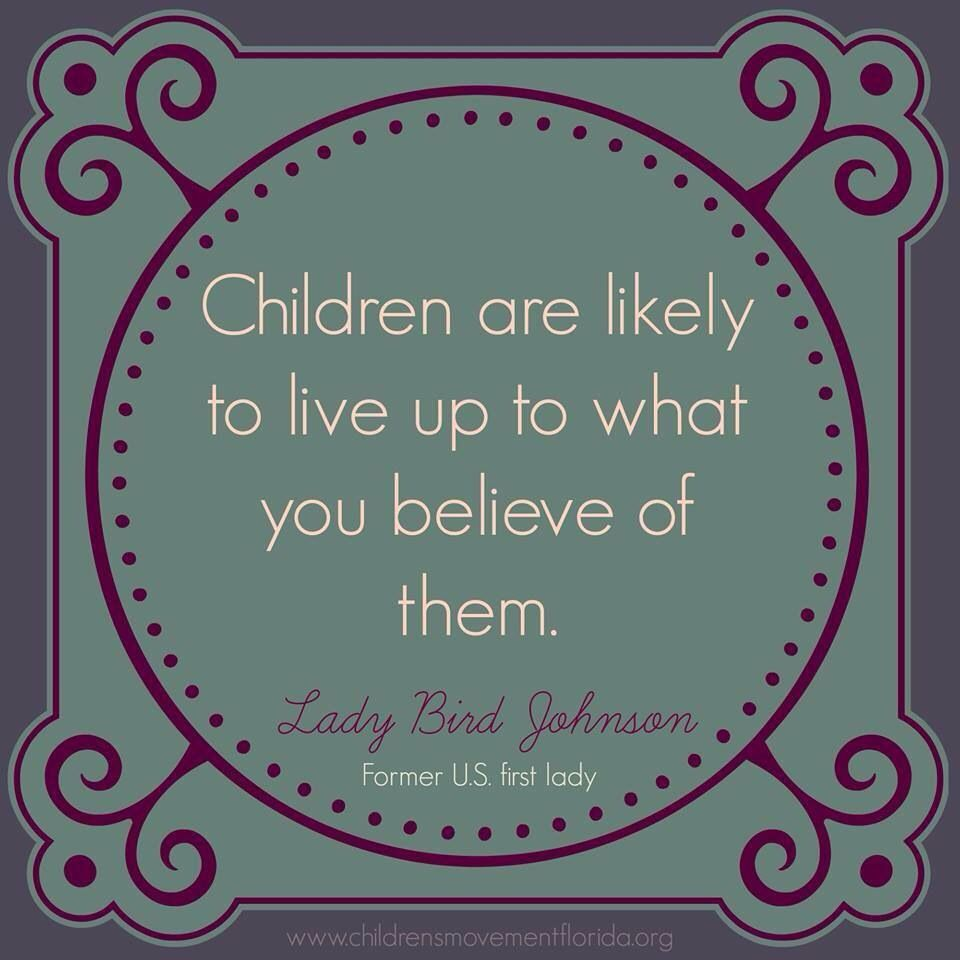 What Children Believe: Self-Fulfilling Prophecy Quotes. QuotesGram