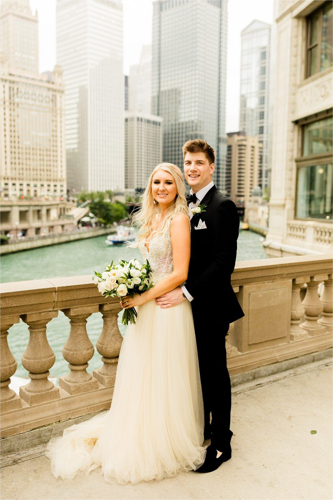 Ryne Kelly Wyndham Grand Chicago Riverfront Wedding Photos Riverfront Wedding Wedding Photos Wedding