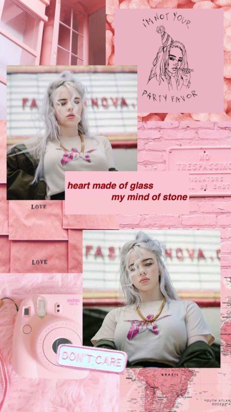 Billie Eilish Billie Billie Eilish Pink Aesthetic