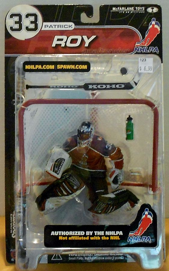 Patrick Roy Nhlpa Series Baseball Cards Mcfarlane Toys Game Artwork