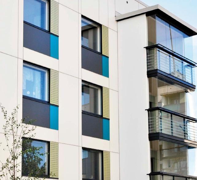 Senior Citizen Apartments: Senior Citizen Housing, Facade, Architecture