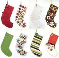 felt christmas stocking - Google Search
