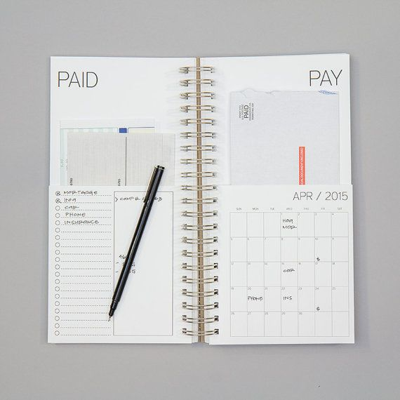 All Bills Paid Houses: Such A Cute Way To Keep All Of Your Bills That Need To