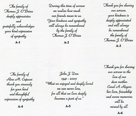 Doc15961600 Funeral Words for Cards Short Poems For Funeral – Funeral Words for Cards
