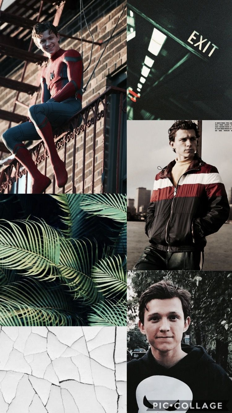 ok so this isn't a 1d wallpaper, it's a tom holland one