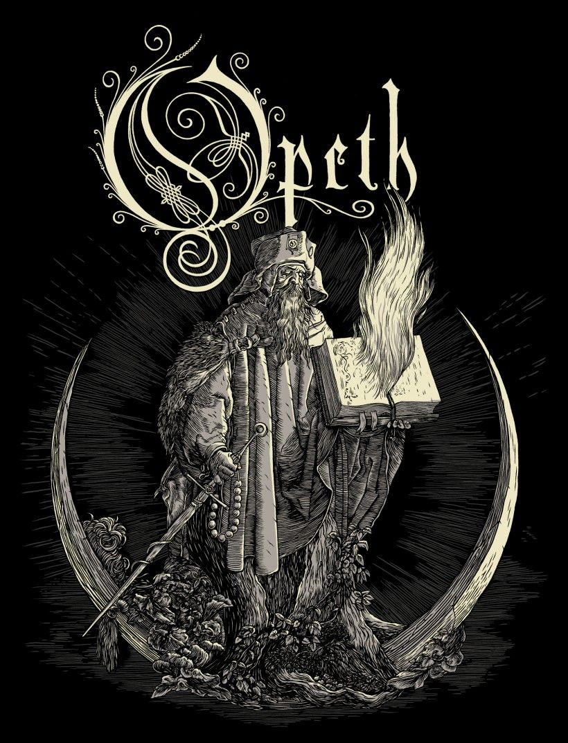 I like the fantasy esque look of opeth 39 s logo the twirling lines fit well for the general feel - Gojira band wallpaper ...