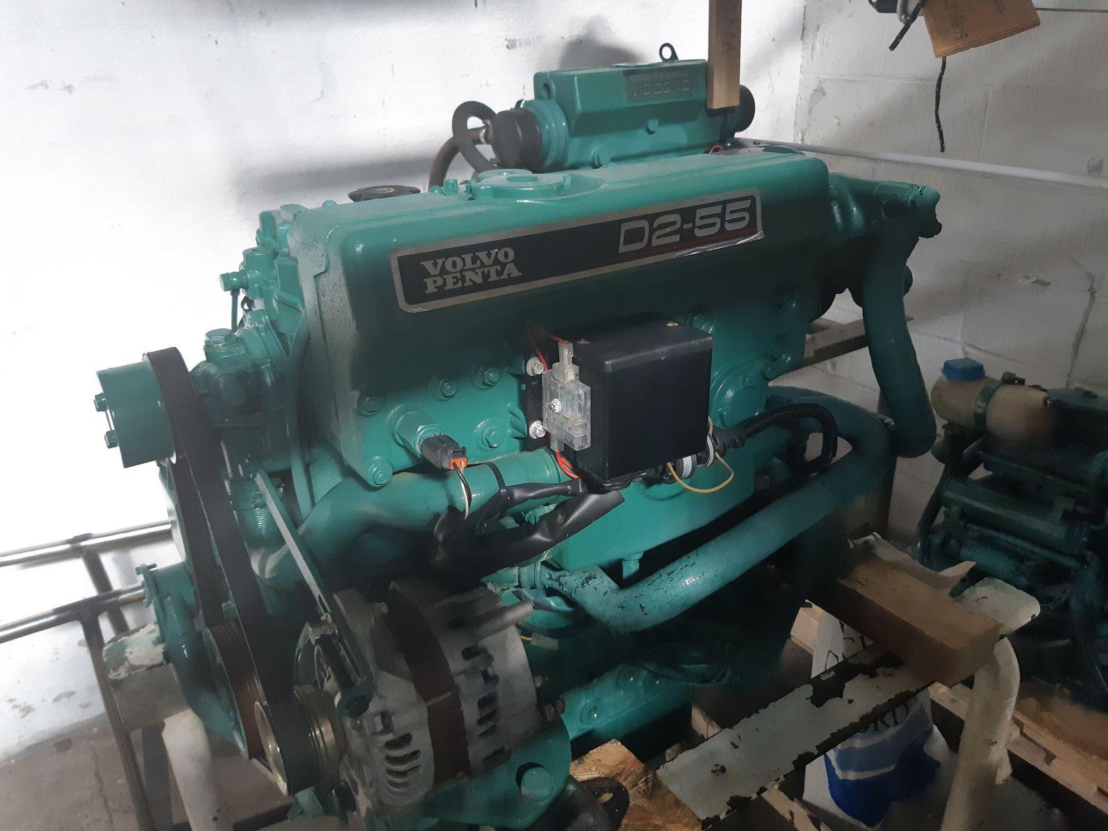 Volvo Penta D2 55 2007 Inboard Marine Diesel Engine Running Hours 420 Marine Diesel Engine Engines For Sale Volvo