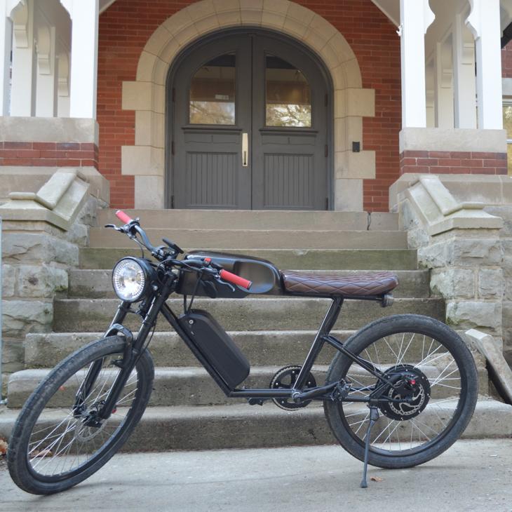 New Electric Bike Features Innovative Technology Safety New