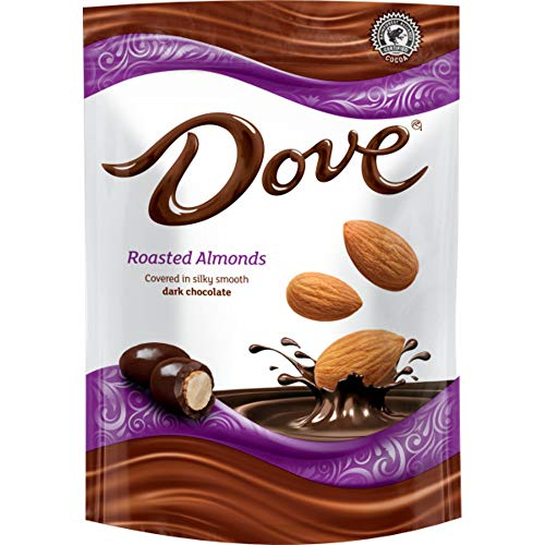 Dove Dark Chocolate Covered Almond Candy Pouch Shopinzar Com Dove Dark Chocolate Chocolate Covered Almonds Dark Chocolate